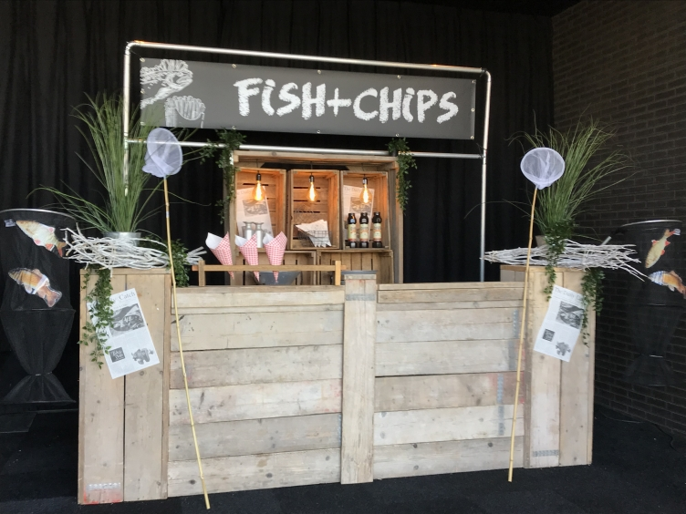 fish and chips kraam